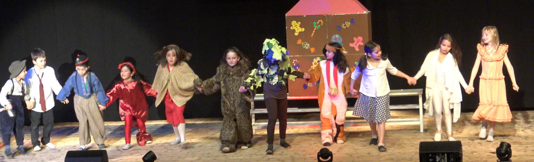 Atelier théâtre Binokyo - représentation cours petits 2018